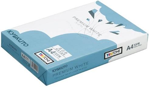 コピー用紙 キョクトウ PPC用紙 A4サイズ アウトレット 高白色タイプ まとめ買い 重い A4サイズ 500枚 1束 PPCKA4 プレミアムホワイト 希少