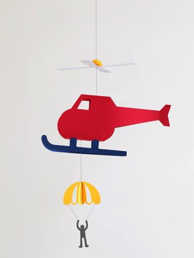ペーパーモビール ペパモ 送料無料お手入れ要らず ヘリコプター ソロルファクトリー M 054 未使用品