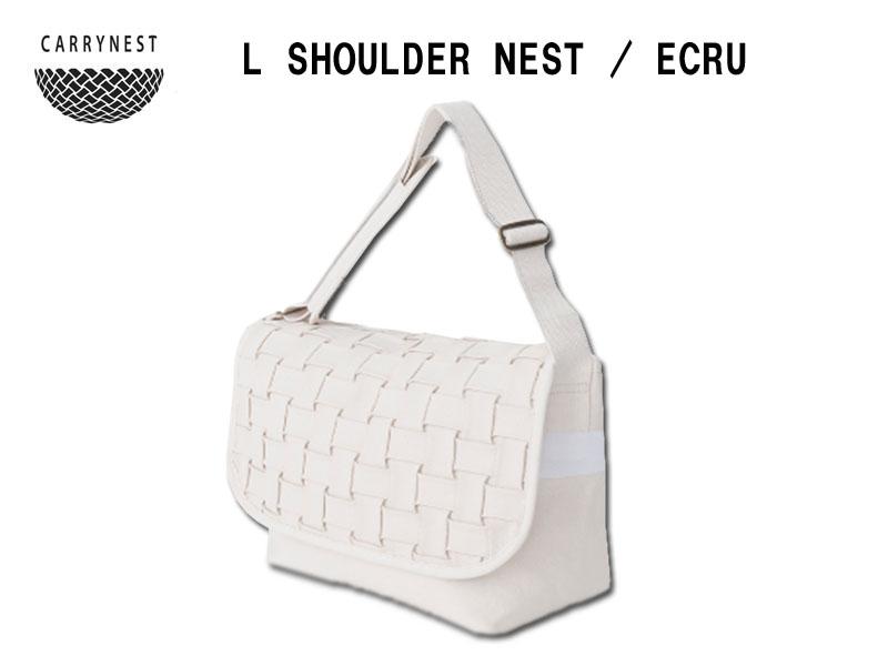 【送料無料】CARRYNEST L SHOULDER NEST - ECRU
