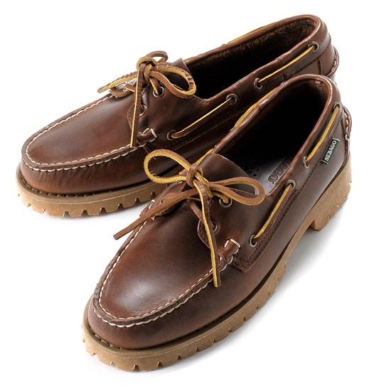 【クーポン取得&使用で15%OFF】セバゴ SEBAGO / 【国内正規品】 / 20SS!ワックスレザーレンジャーモカシン「RANGER WAXY」(BROWN/ブラウン)/ メンズ 靴 革靴 デッキシューズ モカシン アメリカ キャンプサイド レンジャー