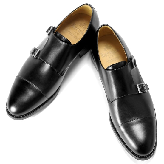 c782d7b6e6e0f Berwick Berwick1707 / boxcalf double Monk strap shoes
