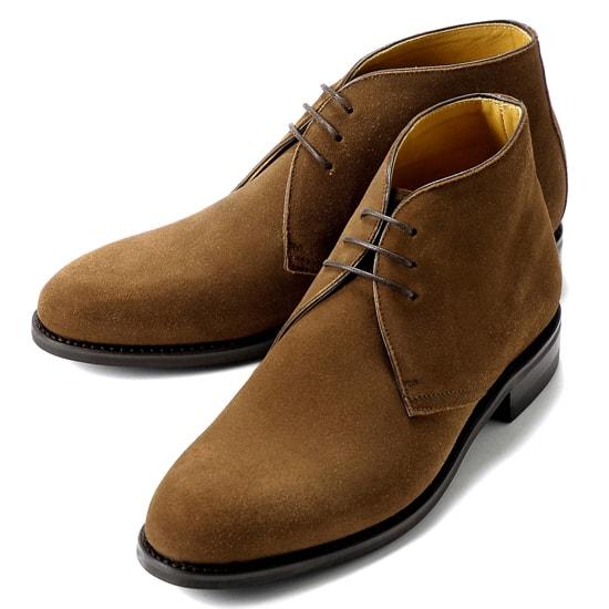 バーウィック Berwick1707 / スエードチャッカブーツ「320」(SNUFF/ ブラウン )/ 靴 シューズ チャッカ ブーツ 茶 チャッカブーツ スエード メンズ チャッカーブーツ デザートブーツ ビジネス ショートブーツ