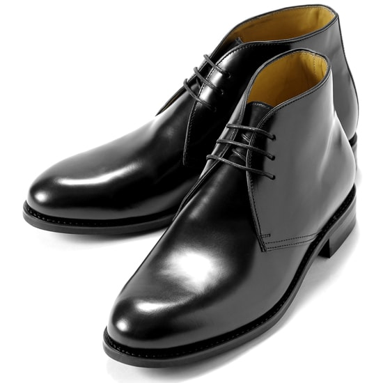 【クーポン取得&使用で15%OFF】バーウィック Berwick1707 / バインダーカーフチャッカブーツ「320」(NEGRO/ ブラック )/ 靴 シューズ チャッカ ブーツ 黒 カーフ メンズ チャッカーブーツ コードバン コードヴァン ビジネス ショートブーツ