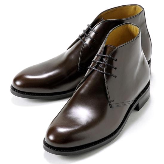 バーウィック Berwick1707 / バインダーカーフチャッカブーツ「320」(MARRON/ ダークブラウン )/ 靴 シューズ チャッカ ブーツ 黒 チャッカブーツ カーフ メンズ チャッカーブーツ ダイナイトソール ビジネス ショートブーツ