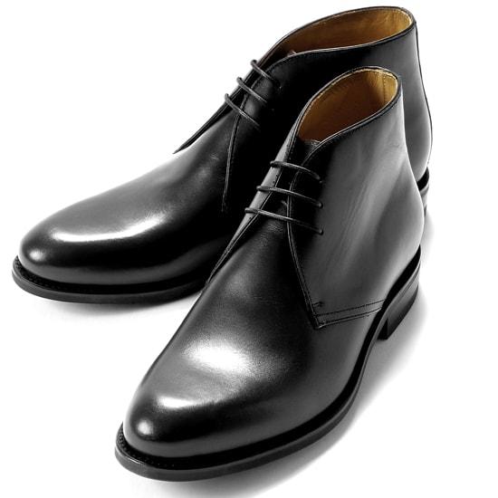 【クーポン取得&使用で15%OFF】バーウィック Berwick1707 / ボックスカーフチャッカブーツ「320」(NEGRO/ブラック )/ 靴 シューズ チャッカ ブーツ 黒 チャッカブーツ メンズ デザートブーツ ビジネス ショートブーツ ダイナイトソール ブランド