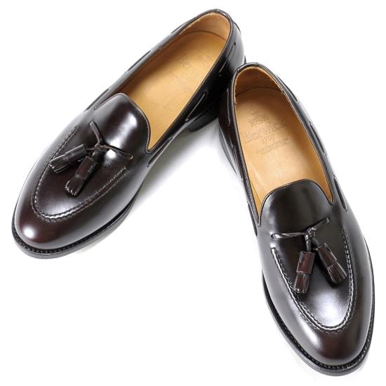 バーウィック Berwick1707 / バインダーカーフタッセルローファー『4171』(MARRON/ ダークブラウン ) 靴 シューズ タッセル ローファー 茶 / berwick 革靴 ビジネス カジュアル レザーシューズ スリッポン レザー コードバン コードヴァン