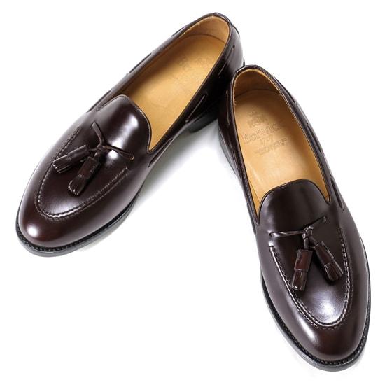 バーウィック Berwick1707 / バインダーカーフタッセルローファー『4171』(BURDEOS/ バーガンディ ) 靴 シューズ タッセル ローファー / berwick 革靴 ビジネス カジュアル コードバン スリッポン レザー ビジネスシューズ