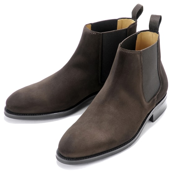 【クーポン取得&使用で15%OFF】バーウィック Berwick1707 / スエードサイドゴアブーツ「351」(173/ ダークブラウン ) 靴 サイドゴア ブーツ メンズ ブランド | サイドコアブーツ メンズブーツ スエード ダイナイトソール ビジネス スエードブーツ