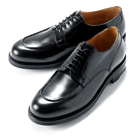 【クーポン取得&使用で15%OFF】バーウィック Berwick1707 / バインダーカーフフレンチ外羽根Uチップシューズ「4410」(AZUL/ダークネイビー) ダイナイトソール リッジウェイ 靴 Uチップ メンズ ブランド オンオフ兼用 コードバン 革靴 ビジネス 紳士靴 シューズ