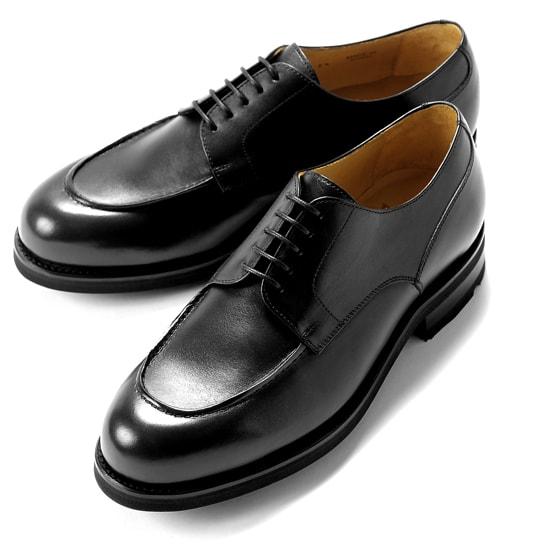 【クーポン取得&使用で15%OFF】バーウィック Berwick1707 / ボックスカーフフレンチ外羽根Uチップシューズ「4410」(NEGRO/ブラック) ダイナイトソール リッジウェイ 靴 Uチップ メンズ ブランド オンオフ兼用 本革 カジュアル 革靴