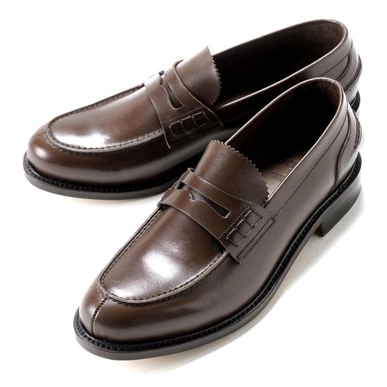 【クーポン取得&使用で15%OFF】バーウィック Berwick1707 / ボックスカーフビーフロールコインローファー「4821」(NIGER/ダークブラウン) ローファー メンズ ブランド ビーフロール ローファ ドレスシューズ コインローファーシューズ 紳士靴