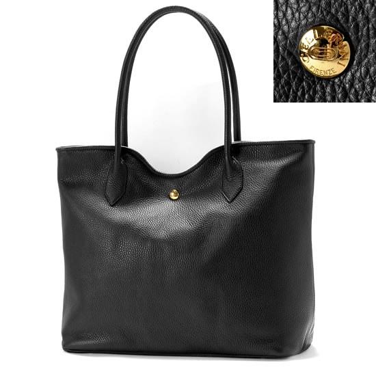 チェレリーニ CELLERINI / 当店別注アルチェレザートートバッグ「1241 GOLD」(NERO/ブラック)/ メンズ イタリア 鞄 カバン 革 レザーバッグ ハンドメイド
