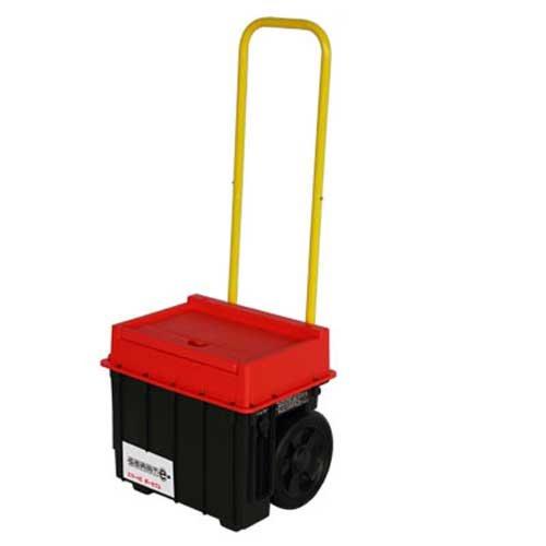 移動式小型蓄電システム スマートEポータブル SEP-1000(スマートイー) 加地貿易株式会社