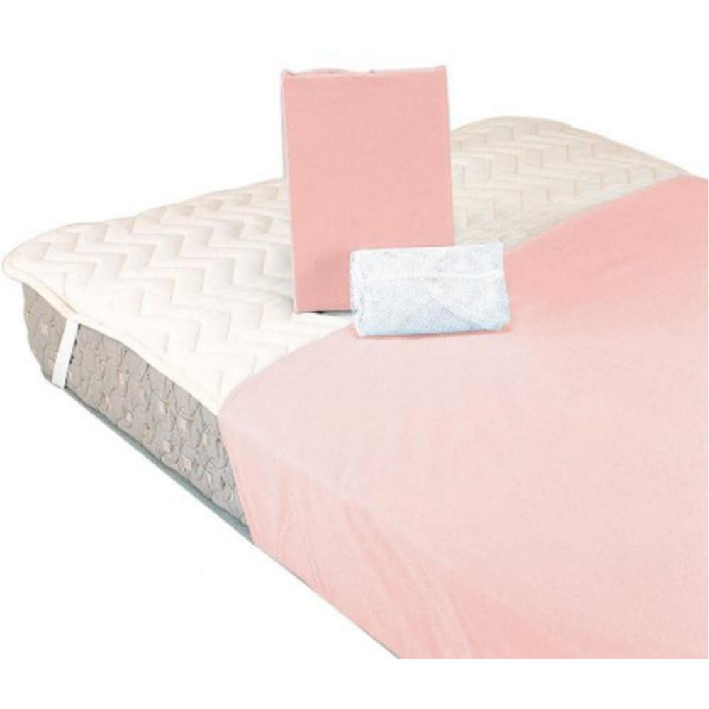 ■20倍ポイント~今なら【フランスベッド】ベッドインバッグB 羊毛3点パック ダブル ピンク