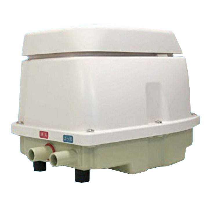【日東工器】 メドー 浄化槽エアーポンプ ブロワー LAG-80E (右ばっき)