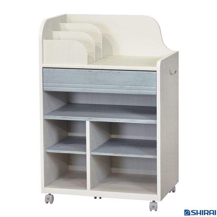 ランドキッズ ランドセルラック(深型タイプ) ラック 本棚 棚 収納 書棚 ディスプレイ 送料無料