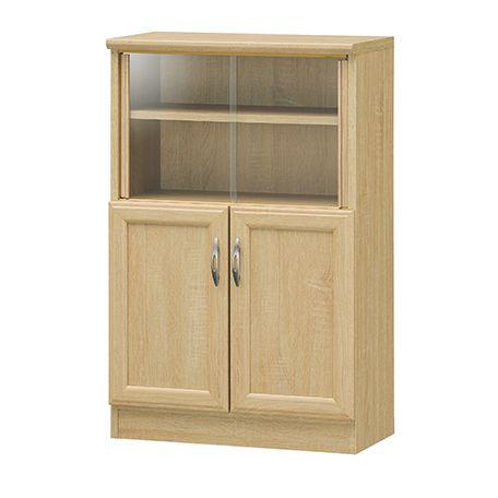 ホノボーラ ミニカップボード キッチン収納 キッチン小物収納 食器棚 棚 送料無料