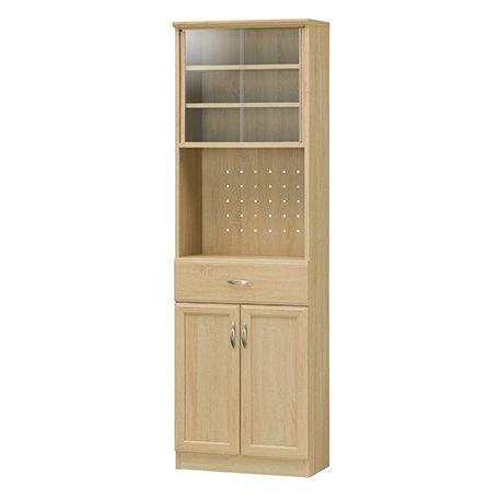 ホノボーラ カップボード キッチン収納 食器棚 レンジ台 棚 送料無料