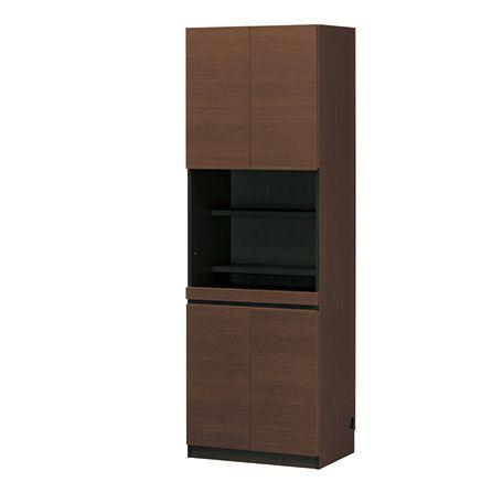 ポルターレ・クローク 壁面キャビネットデスク 壁面収納 リビング デスク 棚 送料無料
