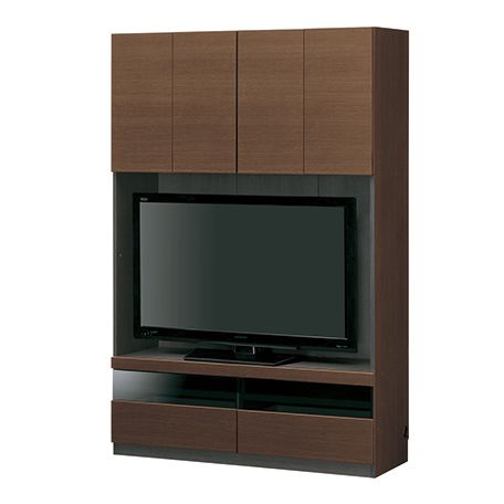 ポルターレ・リビング 壁面テレビボード テレビ台 テレビ台(中)幅61~120cm以下 衣類収納 リビング 棚 送料無料