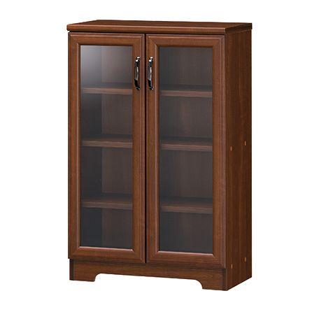 マホルノ キャビネット 本棚・ラック 本棚 キッチン収納 食器棚 棚 送料無料