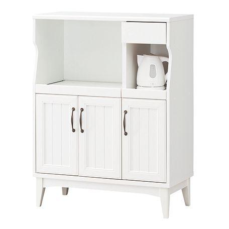 レトロア カウンターボード キッチン収納 食器棚 レンジ台 棚 送料無料