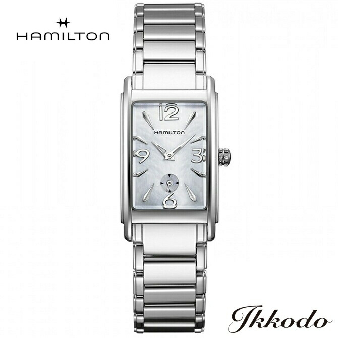 ハミルトン HAMILTON アードモア Ardmore クォーツ ボーイズサイズ 幅23.4×32mm ステンレスケース&ブレス MOP文字盤 3気圧防水 日本国内正規品 腕時計 2年保証 H11411155
