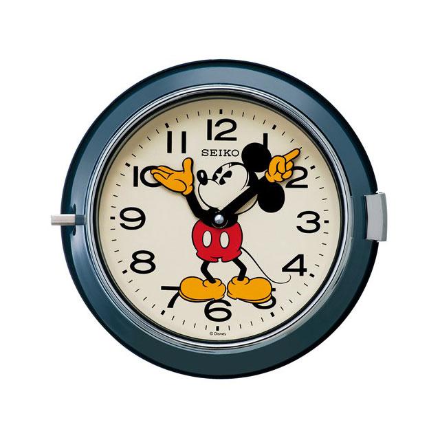 セイコークロック☆ミッキーマウス掛け時計☆クオーツ☆正規品☆FS504L
