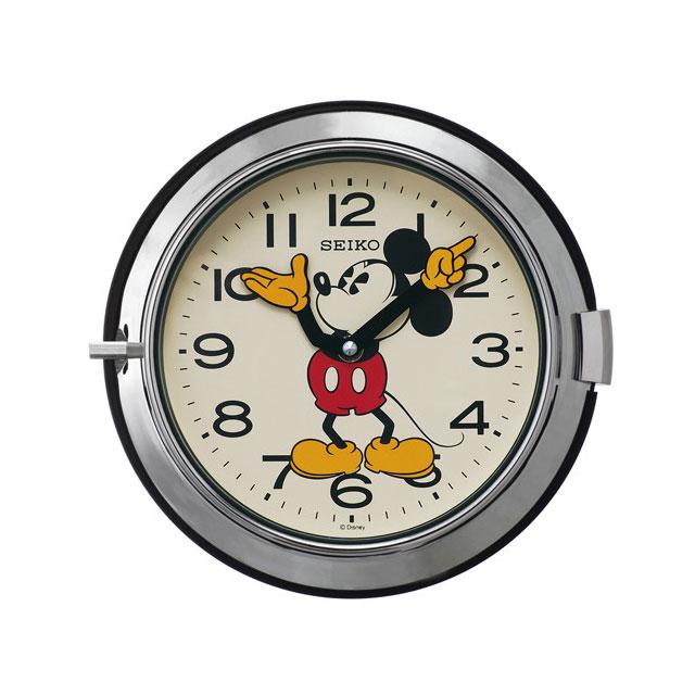 セイコークロック☆ミッキーマウス掛け時計☆クオーツ☆正規品☆FS504S