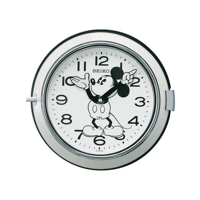 セイコークロック☆ミッキーマウス掛け時計☆クオーツ☆正規品☆FS504W