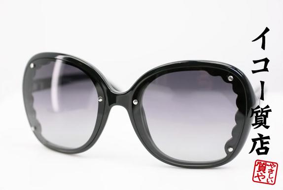 クロエ サングラス CE653S ブラック/グラデーションレンズ 【中古】1436