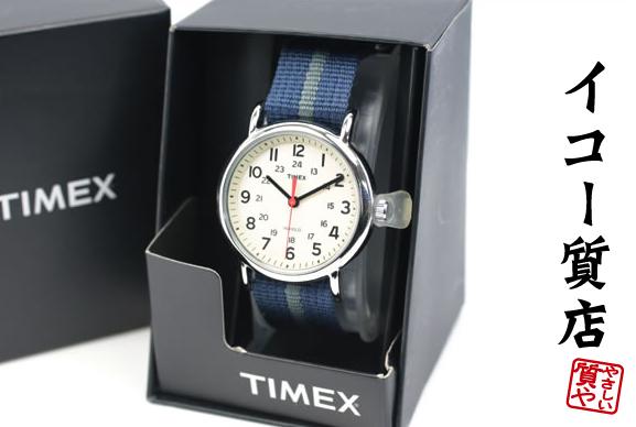 TIMEX ウィークエンダー セントラルパーク T2N654 クオーツ メンズ 未使用・保管品 【中古】4408