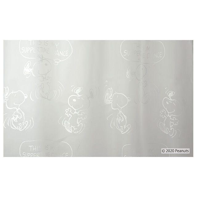 ピーナッツ カーテン シアー サパータイムダンスボイル 約100×133cmの2枚組(1窓分) ホワイト スミノエ PEANUTS