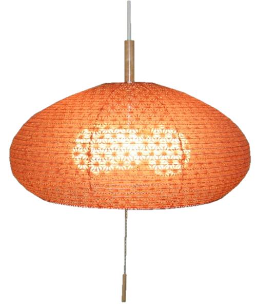 麻葉煉瓦(あさばれんが) 和風ペンダントライト電球は別売りです