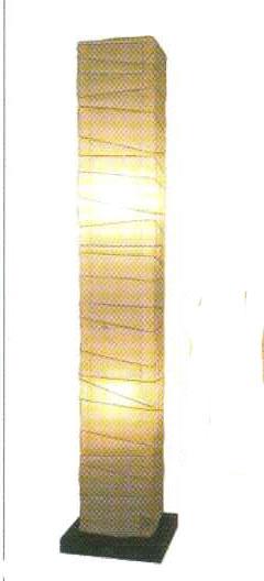フロアライト 揉み紙x小梅白