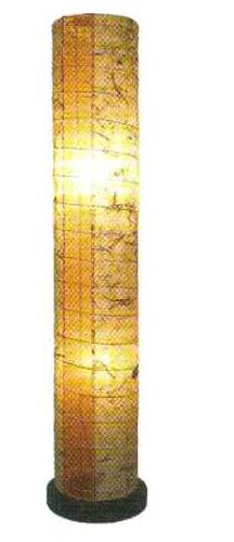 フロアライト バナナX麻葉煉瓦