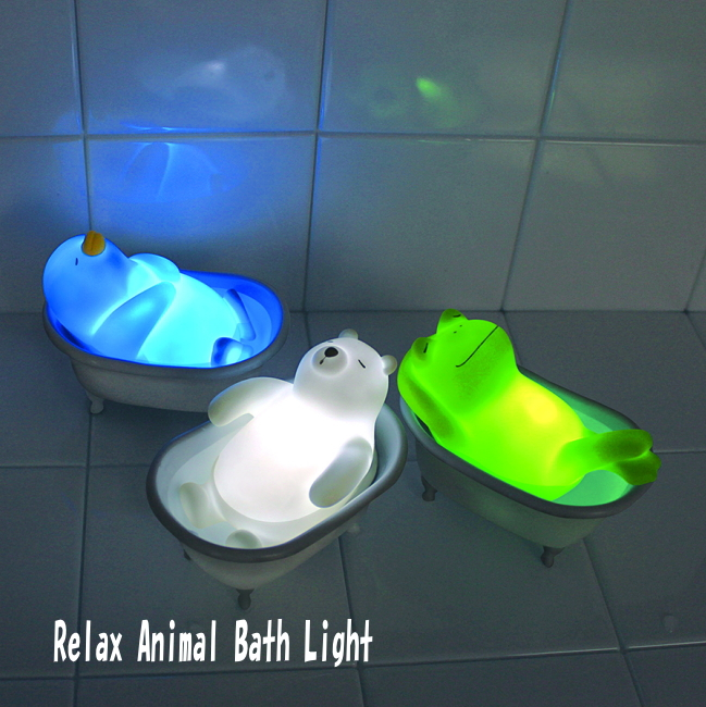 Relaxing lighting Night Good Feeling Into The Bath The Bus Of The Cute Animals Put Water And Hot Water Light Animals Healed The Animals Were Relaxing In The Bath Rakuten Ikoi Relax Animal Bus Bus Lighting Healing Animal Bath Led