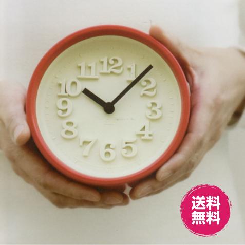 送料無料 昔懐かしい小さな可愛い壁時計 リキクロック 渡辺力モデル 70年代復刻 デザイン モダン 掛け時計 置時計 雑貨 モデル着用 注目アイテム レムノス おもしろ 100%品質保証! 小さな時計 プレゼント アンティーク オシャレ コンパクト ギフト