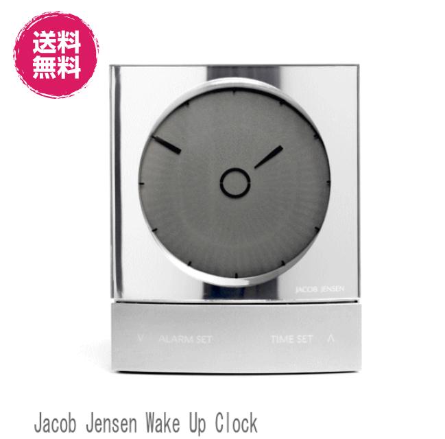 Jacob Jensen Wake Up Clock ヤコブ・イェンセン ウェイクアップクロック デジタルシリーズ(ヤコブ イェンセン 目覚まし時計 置時計 北欧時計 お洒落 )【ギフト プレゼント】