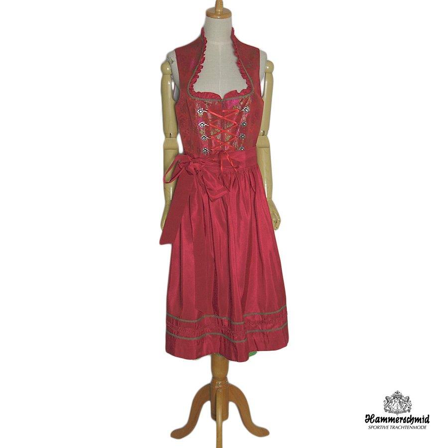 【中古】 Hammerschmid エプロン付き チロル ワンピース ドレス ディアンドル レディース XL位 ヨーロッパ 民族衣装 古着 【異国屋】