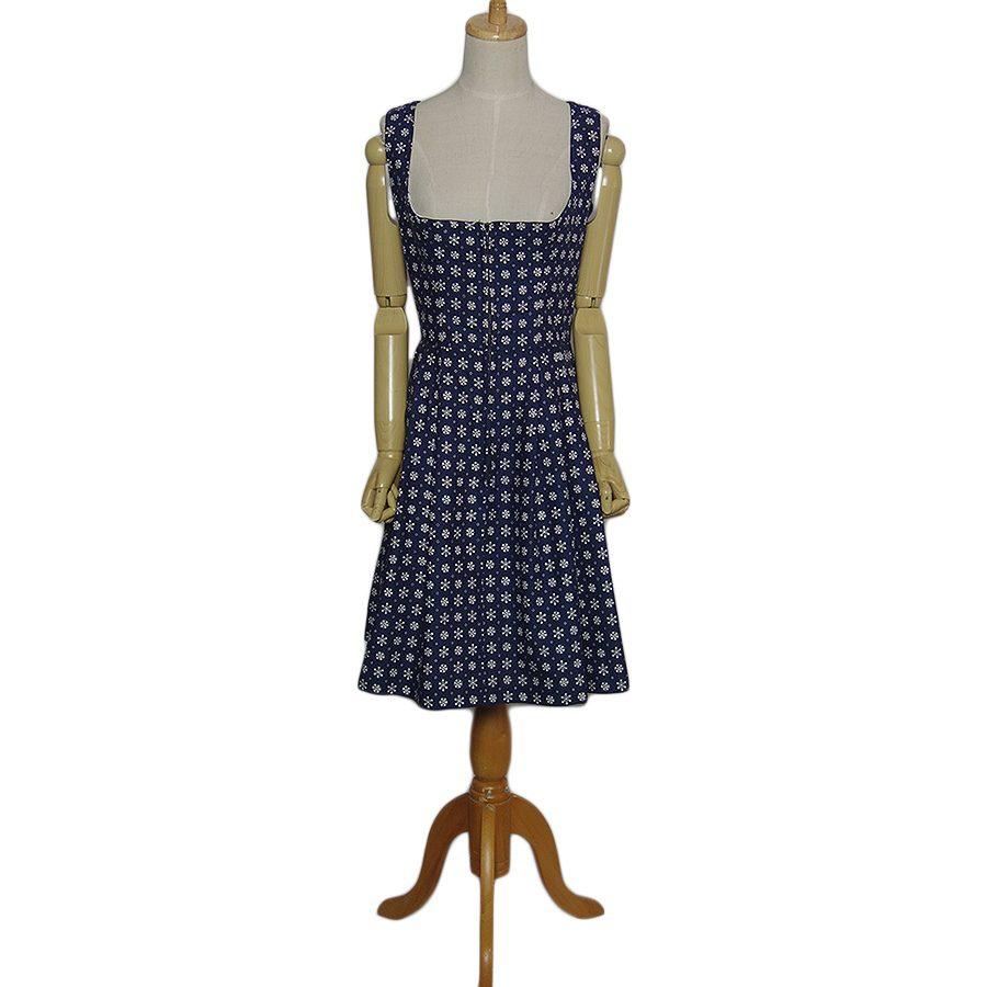 【中古】DIRNDL HOCK チロル ワンピース レディースL位 ヨーロッパ古着 民族衣装 ディアンドル