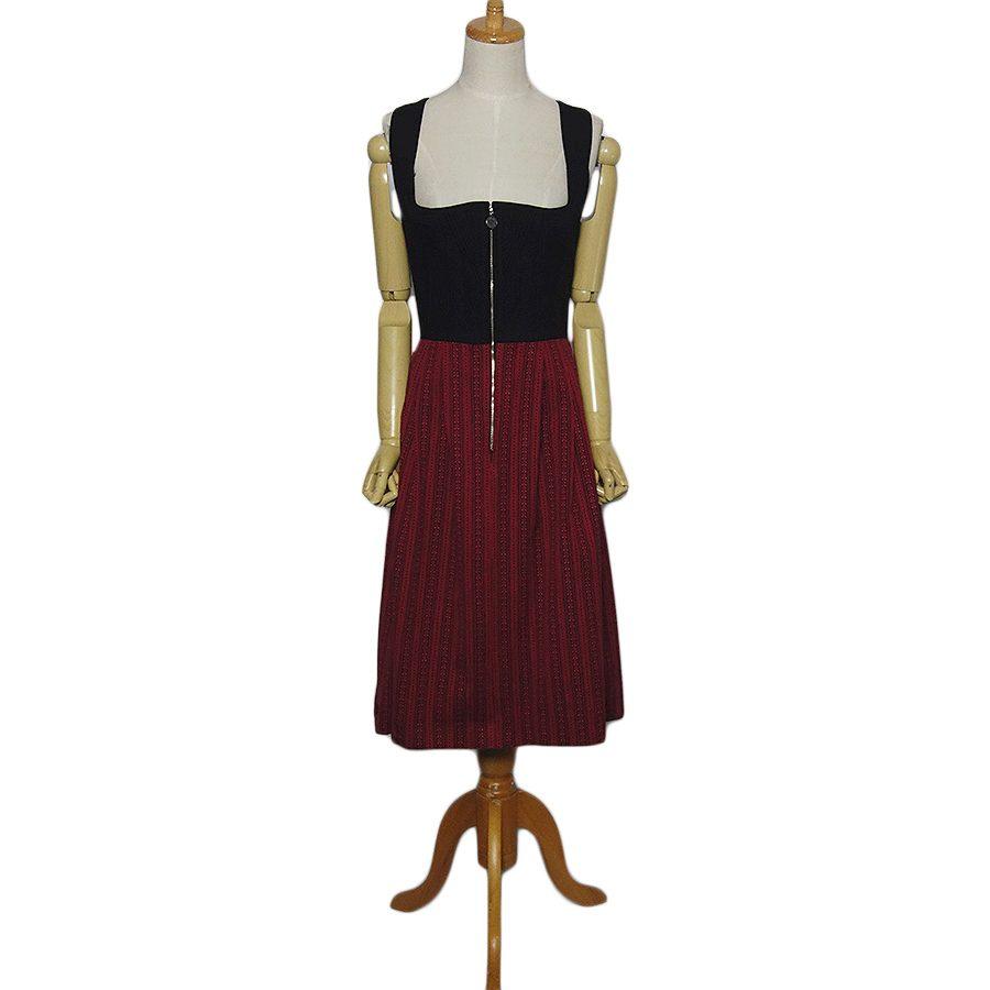 【中古】TRACHTEN FRANZ チロル ワンピース ドレス レディースM位 ヨーロッパ古着 民族衣装 ディアンドル