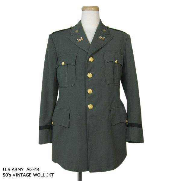 【中古】 米軍U.S.ARMY 1950年代 AG-44 ヴィンテージ ウールジャケット メンズ43R L位 ミリタリージャケットアーミー