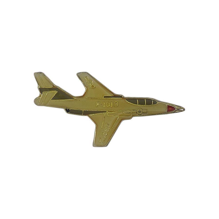 メール便限定 ピンズは何個でも同時梱包OK 中古 戦闘機 ピンズ ピンバッチ ピンバッジ 留め具付き 飛行機 公式 上品 異国屋 USAF ビンテージ F-101B ミリタリー