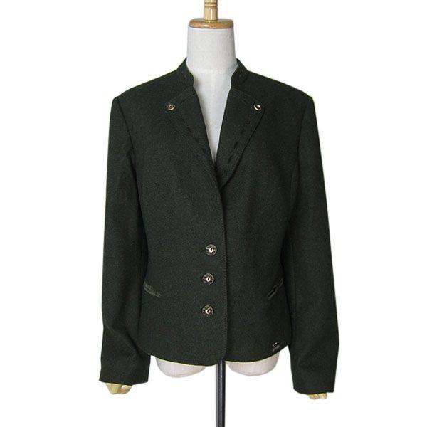 【中古】 オーストリアPERMA ウールチロルジャケット レディースML位 ヨーロッパ古着民族衣装 【異国屋】