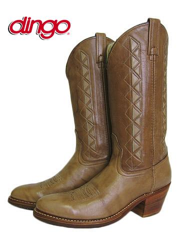 USA製 dingo ディンゴ 本革 ウエスタンブーツ 11B / 27.5cm 細み  【中古】 【ウエスタンブーツ-異国屋】