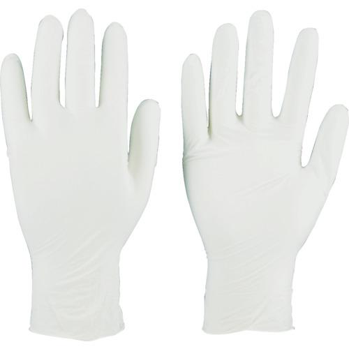 中古 在庫限り TRUSCO 美品 ニトリル製使い捨て極薄手袋 粉無し 200枚入 ホワイト M