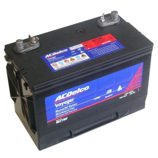 ディープサイクルバッテリー ACデルコ Voyager ボイジャーM24MF 蓄電池 サイクルサービスバッテリー