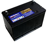 ディープサイクルバッテリー ACデルコDC27 蓄電池 サイクルサービスバッテリー