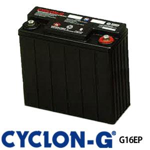 サイクロンG G16EP ディープサイクルバッテリー エナーシス製 (ホーカーバッテリー) 蓄電池 サイクルサービス バッテリー CYCLON-G BATTERY CYCLONG サイクロンジー オフグリット 独立電源 バッテリーカー UPS 観測装置 医療 非常灯 工場 低温 高温 極地